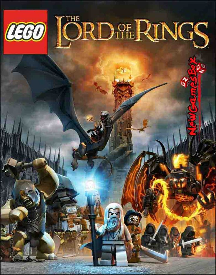 Lego The Lord Of The Rings PC Game Free Download Full