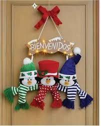 Resultado de imagen para decoraciones de navidad en fieltro