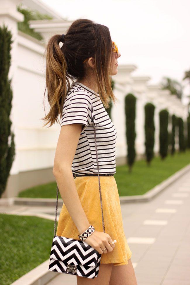 FashionCoolture - 05.10.2015 look du jour Black and white opo of colour estilo menina (5)