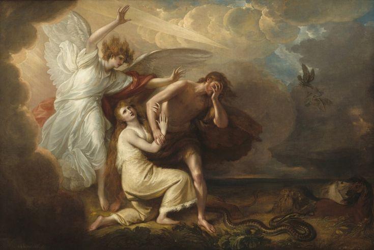 #Wygnanie Adama i Ewy z Raju, Benjamin West