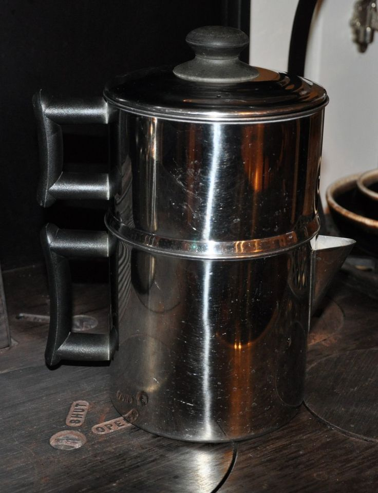 Presso Coffee Maker Non Electric Coffee Maker : How to make coffee with a Non-Electric Drip Coffee Pot Coffee break Pinterest Stainless ...