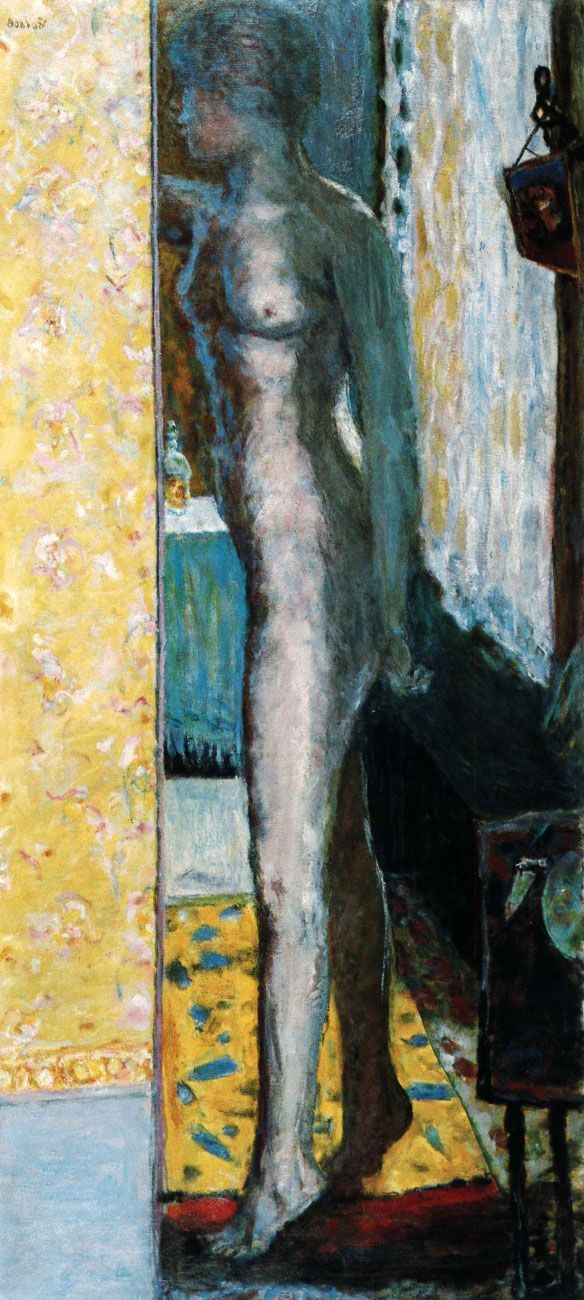 Pierre Bonnard - Nu Debout, 1915