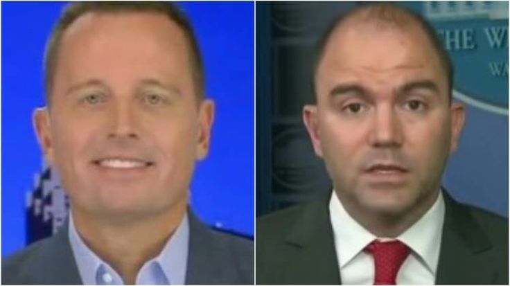 Richard Grenell Drops Truth Bomb After Ben Rhodes Foolishly Slams President Trump's Foreign Policy