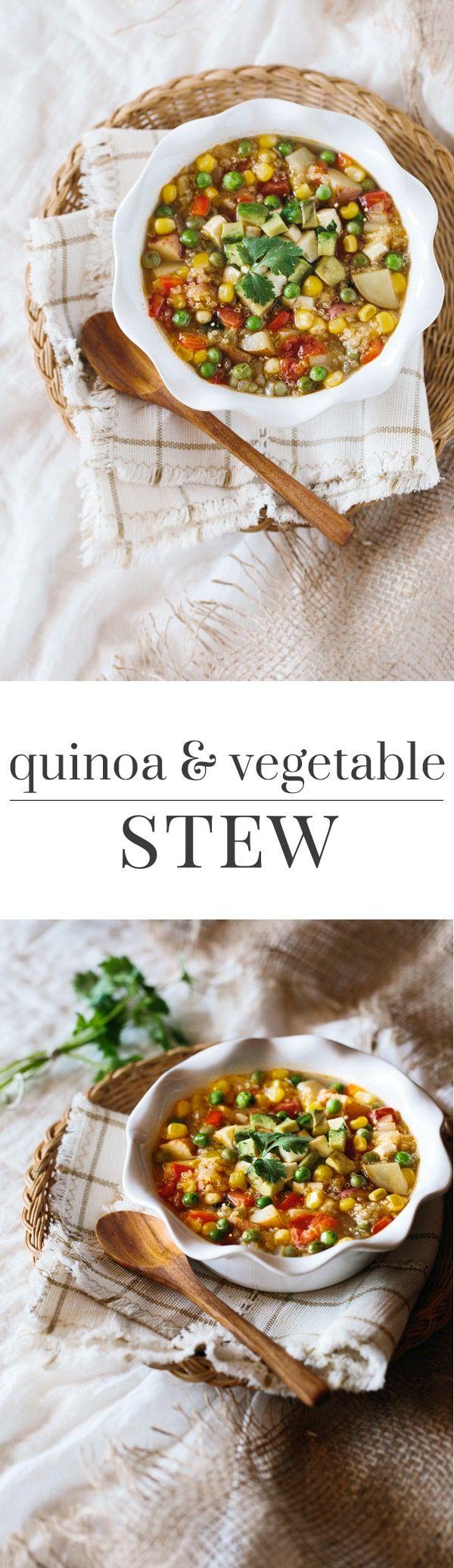 American Test Kitchen Vegetable Stew