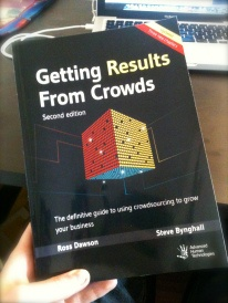 Kirjaesittely: Getting results From Crowds: 7 major applications of crowdsourcing marketing:  Content creation   Idea generation   Product development  Customer insights   Customer engagement  Customer advocacy   Pricing