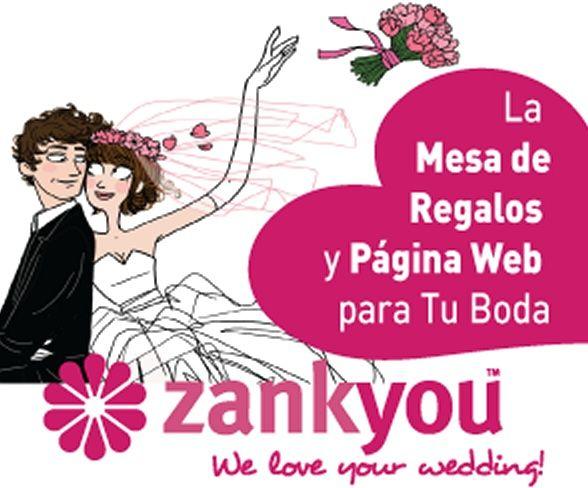 Mesa de Regalos On line y Web de boda Gratis
