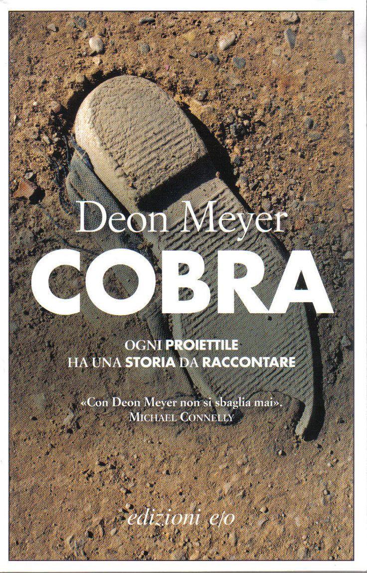 COBRA by Deon Meyer, ppbk, Italy: Edizioni e/o