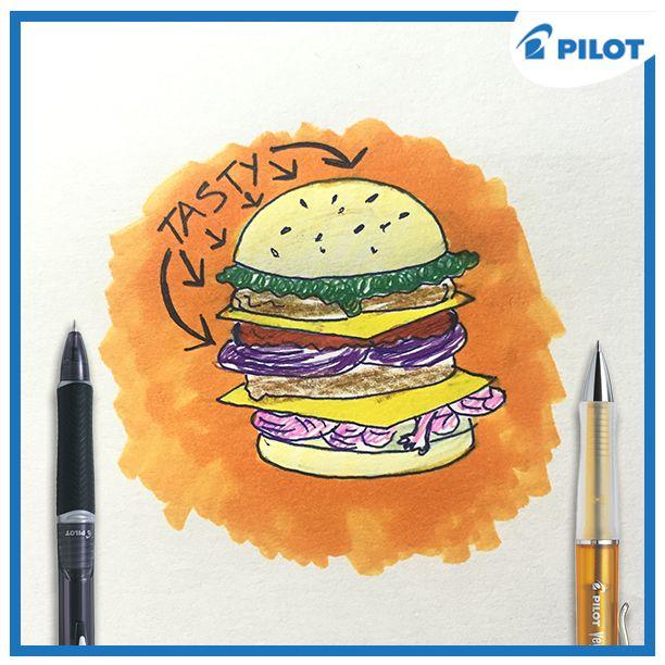 Dnes je ideální den na pořádný oběd! Zkoušeli jste někdy domácí burgery? :) #happywriting