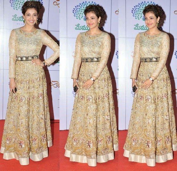 Celebrities in Indian Designer Anarkali Salwar Suits 2014 - ooooch
