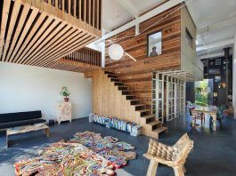'House of Rolf' is a transformation of a late nineteenth century coach house into a spectacular home and workspace