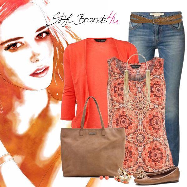 Dámy čo hovoríte výrazným farbám ... :) Páči ... :) #outfit #moda #fashion