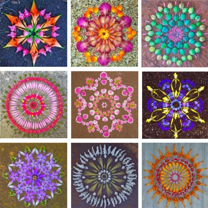 Old is the New | FLOWER MANDALAS
