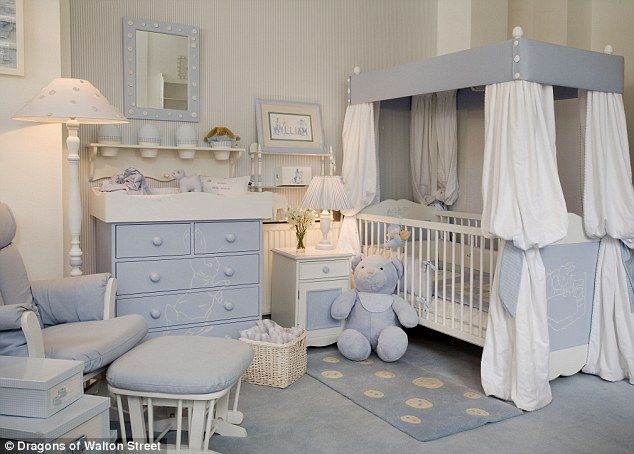 A Bedroom Fit For Future King Or Queen Royal Interior Designers And London Hotel Create Five Star Nursery Suite Perfect Home From The Baby