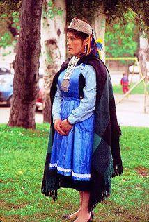 Los Araucanos: Vestimenta Mapuche