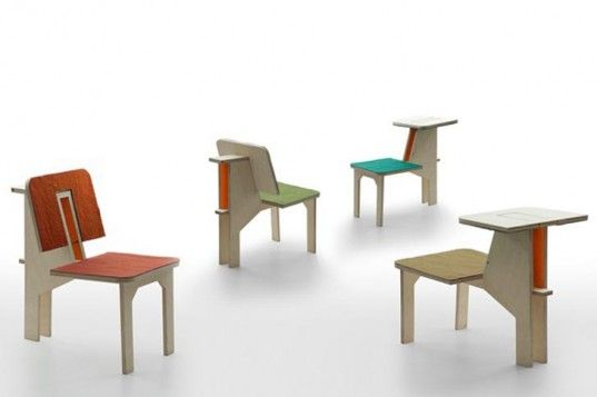 Matali Crasset's Stylish Chair Serves Many Functions
