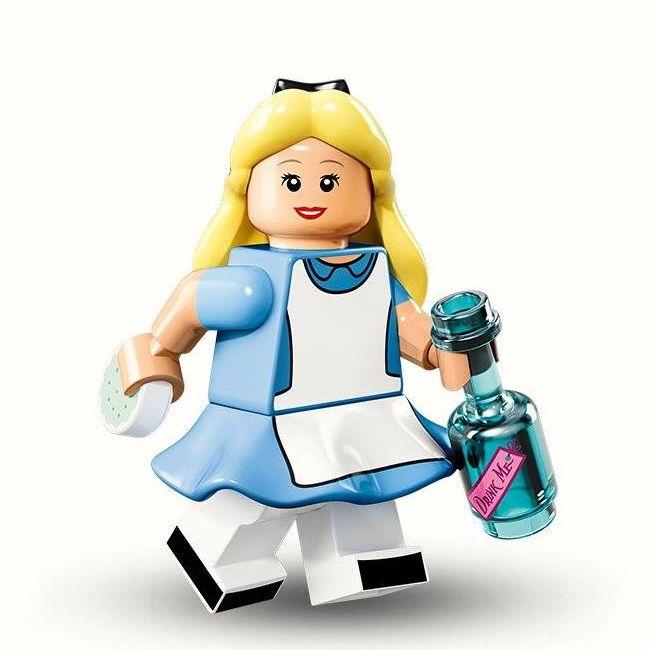 LEGO Disney Alice Minifigure