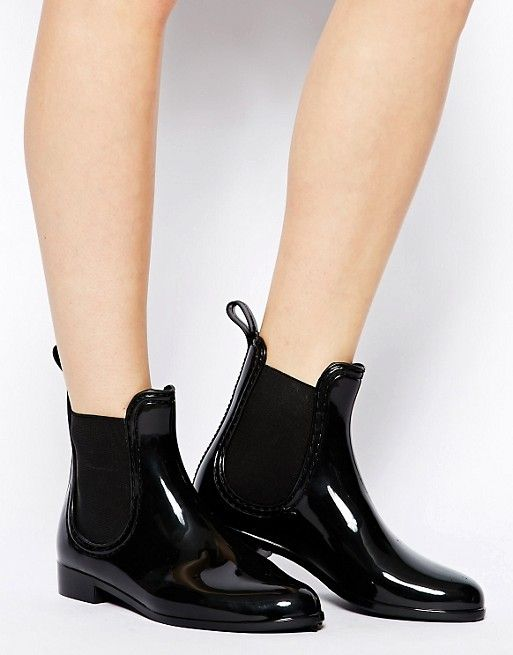 ASOS GAMBLE Wellies - in black - size UK 5 ------------------------ 26.67€