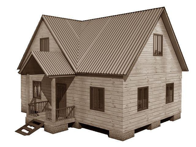 Готовый проект каркасно-щитового дома 6X9 от Строительной компании «ДОМ МЕЧТЫ».
