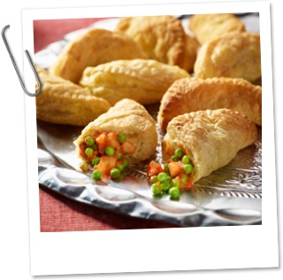 Indiase samosa's (recept van Bonduelle)