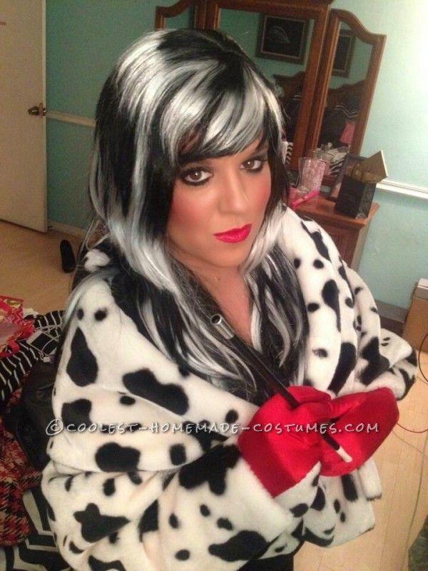 easy cruella deville costume - Cruella Deville Halloween Costume Ideas
