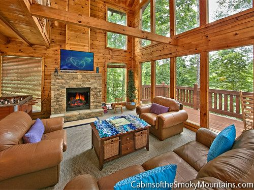 62 best Pigeon Forge Cabins: 1 Bedroom images on Pinterest ...