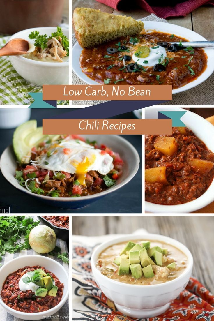10 No Bean Low Carb Chili recipes- gluten free, grain free