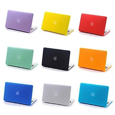 Coosbo®+Matt+Rubberized+Hard+Cover+Case+for+13/15+inch+Apple+Mac+Macbook+Pro+with+Retina+Display+(Assorted+Color)+–+USD+$+24.99