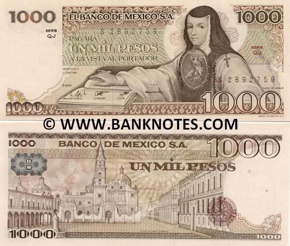 Mexican Currency Pictures 47