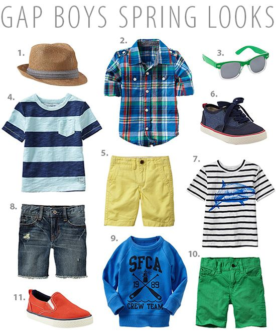 Sweet Little Peanut | Boys Spring + Summer looks from @GapKids #gapkids #boysfashion