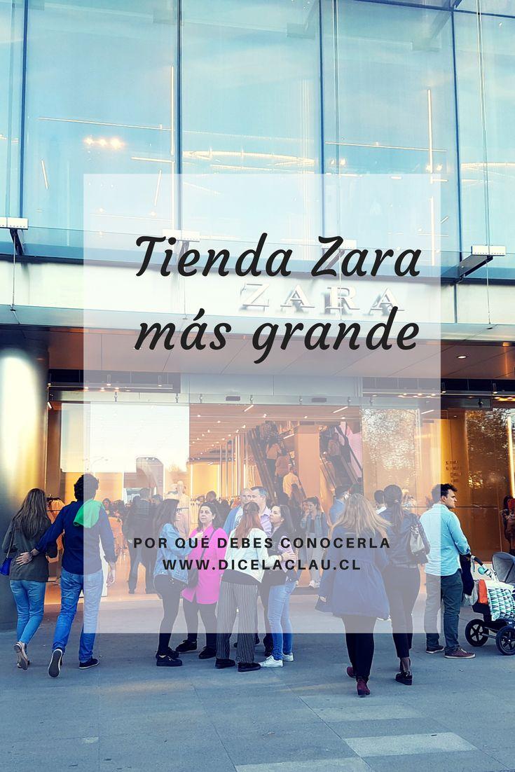 Ya abrió la tienda Zara más grande del mundo y acá están las razones de por qué debes conocerla.