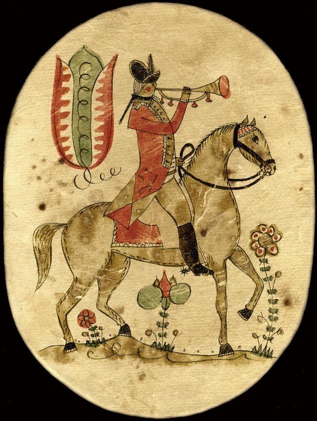 JOHANN FREDERICK KREBS 1784-1812    ...OVAL BOX