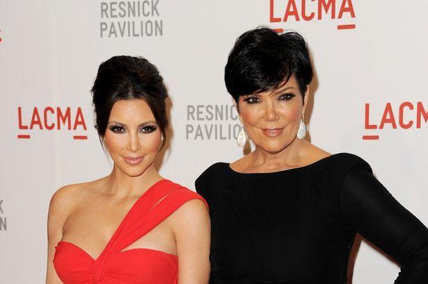 Kris Jenner and Kim Kardashian by http://www.wikilove.com