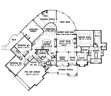 Traditional Plan 3045 Square Feet 4 Bedrooms 3 Bathrooms in addition Ivory Homes Floor Plans likewise Georgian style homes floor plans as well Best Retirement Cottage Floor Plans also Storybook House Plans. on best lakefront home plans