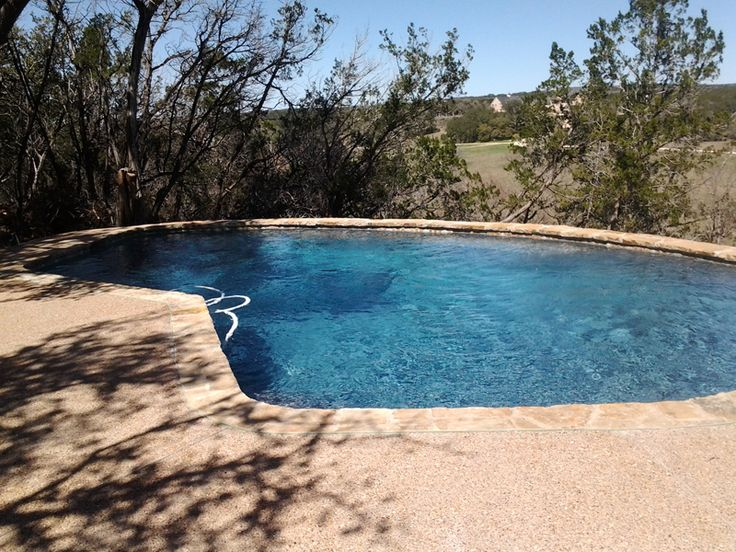 Tranquility at its best. Wimberley Pool Company, A Swimming Pool Quotes, Inc. Pro in Dripping Springs, TX. Visit us for Free Estimates and Designs.