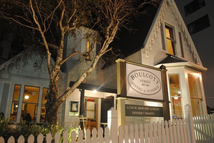 Restaurant shot taken from Boulcott Street, Wellington - Austin Buckley