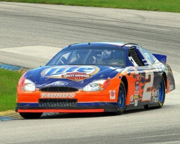 2002 NASCAR- Rusty Wallace, Harley Davidson / Miller Lite #2 Penske Ford Taurus