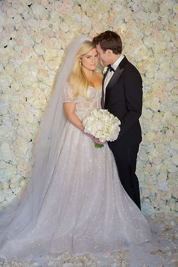 Meghan Trainor Wedding Dress Wedding Dresses Lace Wedding