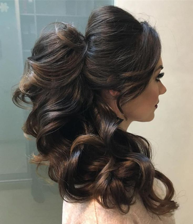 17 Best Ideas About Curly Ponytail On Pinterest