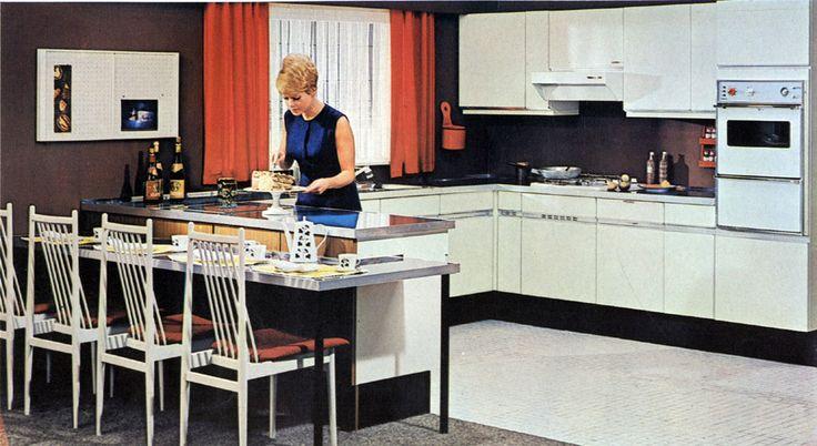 35 best images about cuisine avec bar on pinterest for Arrangement de cuisine