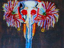 Elefante  Bestiario/ mosaico artistico