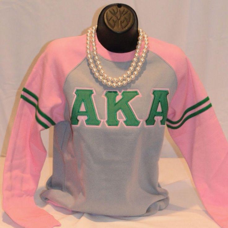 Crewneck-aka-grey/pink from Kendalls Greek Smartwear