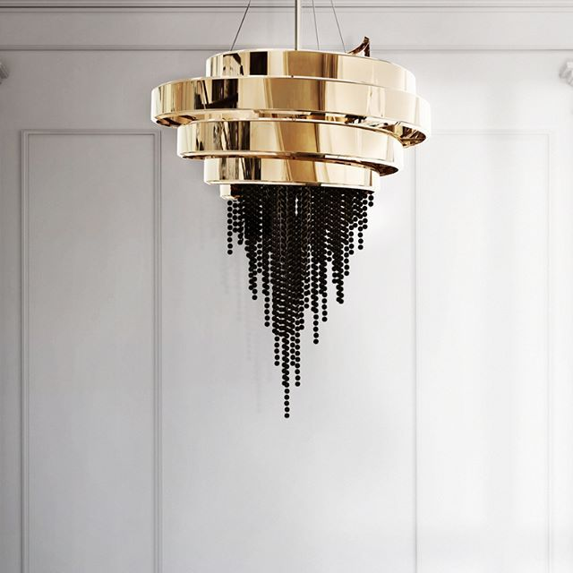 """Guggenheim Museum is called the """"temple of the spirit"""" to smooth the way of looking at the modern pieces, and it was that connection that inspired our partner @luxxumodernlampswhen theycreated the Guggenheim chandelier.