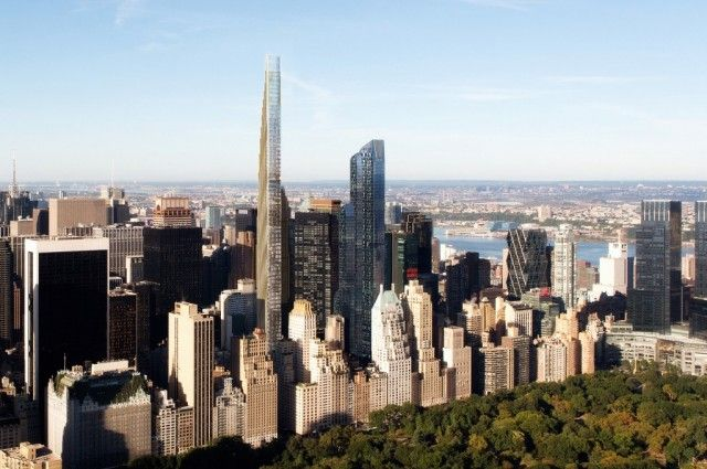 ALTI, MAGRI, COSTOSISSIMI. La nuova tendenza a Manhattan: palazzi-grissino lussuosissimi, con un solo appartamento per piano e una vista mozzafiato sullo skyline