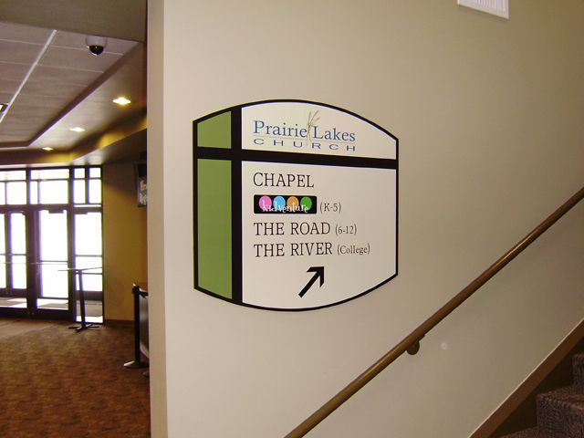 on by pin signage and stephanie graphics building wilkins wayfinding environmental interior pinterest