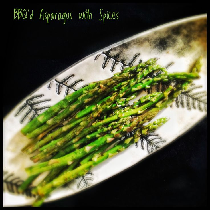 BBQ'd Asparagus