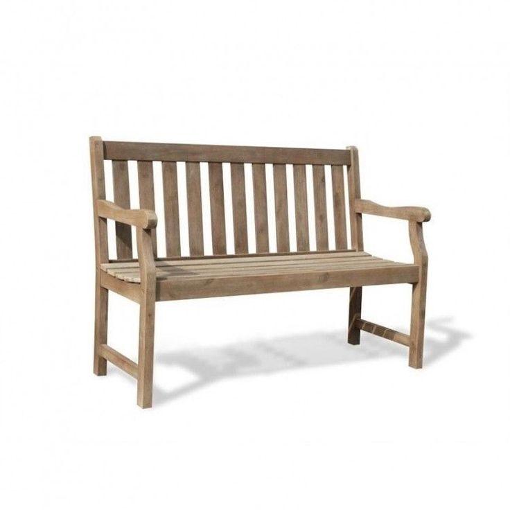 Outdoors Garden Bench 4 Ft Wood Patio Hand Scraped Porch Renaissance Style Home #OutdoorsGardenBench