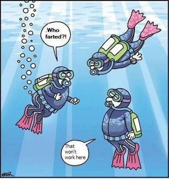 scuba-farting