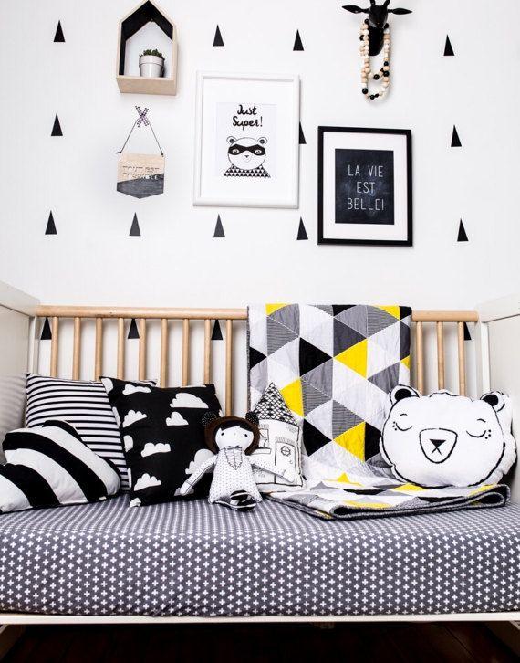 Modern toddler boy bedroom inspiration