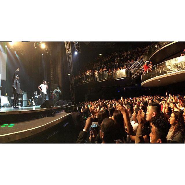 BoyzIIMen killing it in Perth last night... What a show!