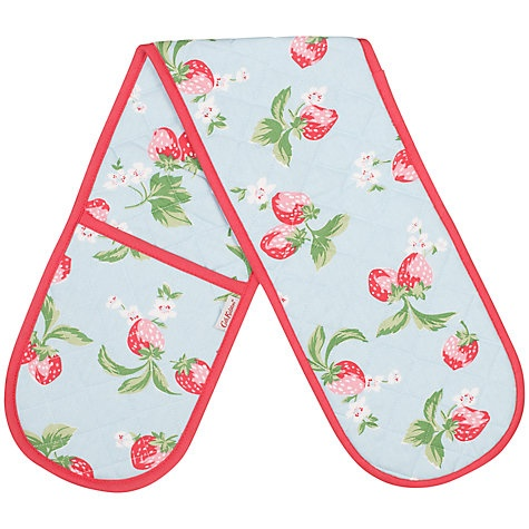Buy Cath Kidston Strawberry Double Oven Glove Online at johnlewis.com